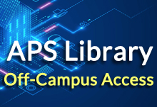 APS Library Off-Campus Access