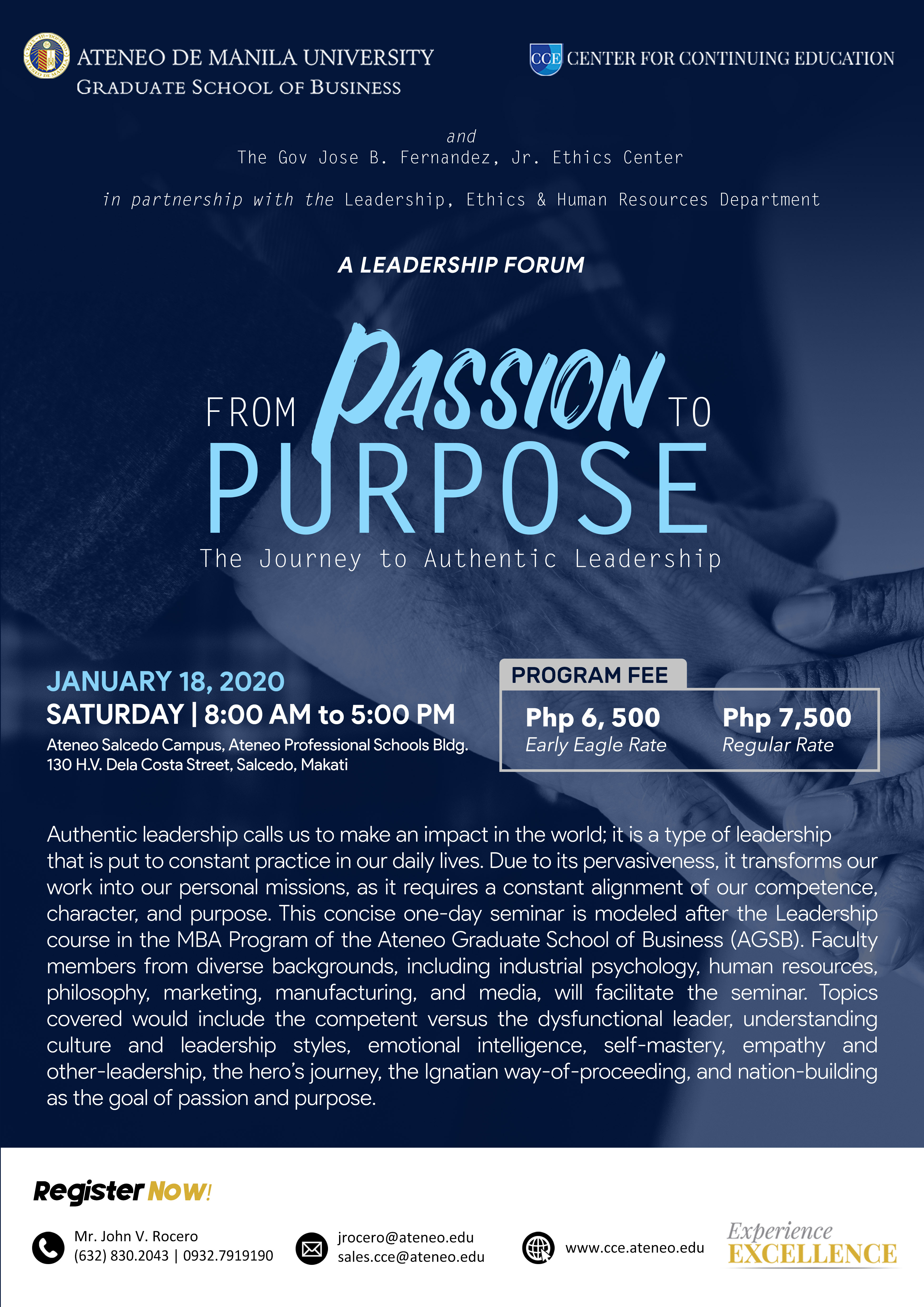 From Passion to Purpose The Journey to Authentic Leadership copy